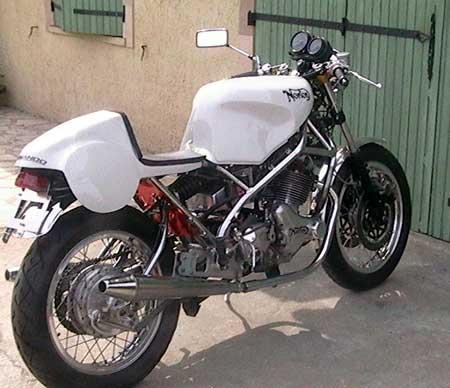 aluminium fuel tank seeley g50
