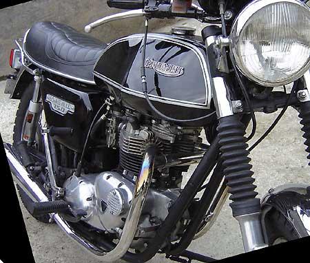 Motos anglaises for Garage peugeot corbeil